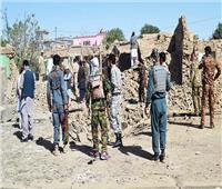 مقتل العشرات من رجال الشرطة الأفغانية في سلسلة انفجارات