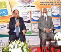 صور| افتتاح المقر الجديد لمعهد التأمين في مصر