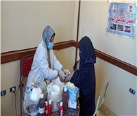 تقديم الخدمات الطبية لـ1514 مواطن خلال قافلة بمغاغة