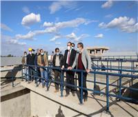 تخدم 10 قرى.. محافظ المنوفية يتفقد مشروع محطة معالجة الصرف الصحي