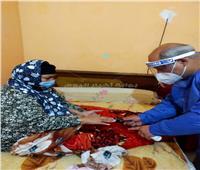 تعافي وخروج 5 حالات كورونا من مستشفى المنشاوي بالغربية