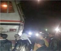 سيارة نقل تتسبب في توقف حركة قطار «مطروح» المتجه للقاهرة