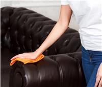 طريقة تنظيف الأثاث الجلدي وعلاج الخدوش