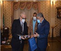 محافظ المنيا يستقبل السفير الإيطالي لتعزيز التعاون والشراكة