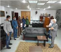 مياه المنوفية: تكريم الفريق المشارك بمواجهة مياه الأمطار بالإسكندرية