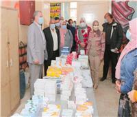 جامعة طنطا: فحص 808 حالة من أهالى «الكرما» وصرف العلاج مجاناً