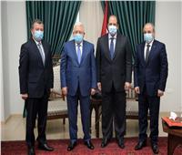 رئيس المخابرات ينقل رسالة من الرئيس السيسي لمحمود عباس