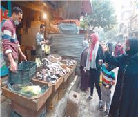 استقرار أسعار الدواجن.. وإقبال على الأسماك في الأسواق
