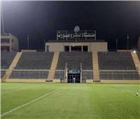 «بتروسبورت» يوضح سبب سوء أرضية الملعب