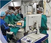 الرعاية الصحية: نجاح أول عملية توسيع للشريان الرئيسي الأيسر ببورسعيد