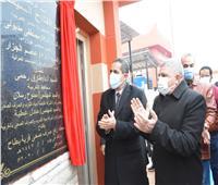 محافظ الغربية يفتتح ٣ محطات للصرف الصحي ومدرسة بمركز قطور