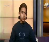 «أصغر باحث مصري» يبتكر خوذة لقراءة أفكار مرضى الشلل الدماغي   فيديو