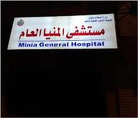 خروج عامل من مستشفى المنيا بعد سقوطه من «علو» داخل مصنع