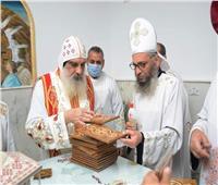 الأنبا يواقيم يترأس صلاة اللقان وقداس عيد الغطاس بكنيسة العذراء بالأقصر