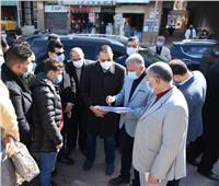 كوبري علوي بمدينة أبوكبير للقضاء على الاختناقات المرورية