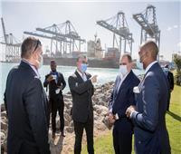 وفد منطقة التجارة الحرة الإفريقية يزورالمنطقة الاقتصادية بقناة السويس | صور