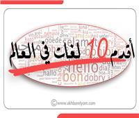 إنفوجراف| أقدم 10 لغات في العالم