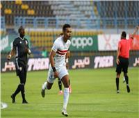 انطلاق الشوط الثاني من مباراة الزمالك والجونة بالدوري المصري