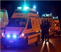 مصرع شاب وإصابة اثنين في انقلاب دراجة بخارية ببني سويف