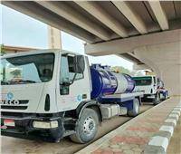 استعدادًا للأمطار.. سيارات شفط مياه تتمركز بشوارع القاهرة