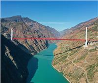 اكتمال جسر نهر جينشا لمدينة جينآن وفتحه أمام حركة المرور