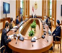 الرئيس السيسي يبحث مشروع زيادة الرقعة الزراعية لمصر لـ٥٠٠ ألف فدان