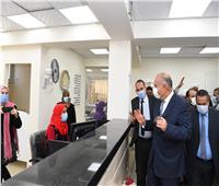 افتتاح المركز التكنولوجي لخدمات المواطنين في قنا