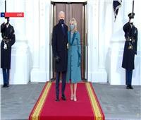 بايدن يصل البيت الأبيض سيرا على الأقدام |صور