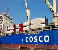 صور| ميناء الأدبية يستقبل معدات كهرباء الرياح بحمولة 8 آلاف طن