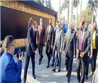 محافظ القاهرة يضع حجر أساس أكبر عجلة دوارة بأفريقيا