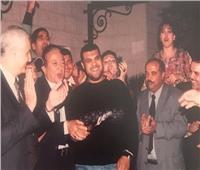 «وحشتني يا أستاذي».. أحمد فتحي يفتح ألبوم الذكريات مع نور الشريف