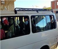 بسبب الكمامة.. رئيس مدينة سمنود ومحامون وركاب ميكروباص أمام النيابة