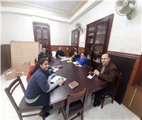 اجتماع لجنة إعداد المناهج بالإيبارشية البطريركية