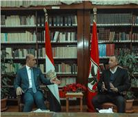 وزير الرياضة العراقي: نجاحات الأهلي فخر للرياضة العربية