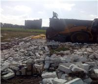 إزالة 35 حالة تعدي على الأراضي الزراعية وأملاك الدولة بالغربية