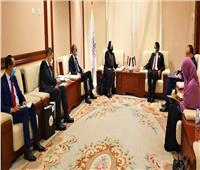 وزيرة التجارة تختتم مباحثاتها مع كبار المسئولين بالحكومة السودانية