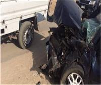 إصابة 5 أشخاص في حادث تصادم في بني سويف
