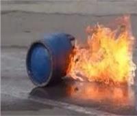 إصابة شخص في انفجار أسطوانة بوتاجاز بشرق العوينات