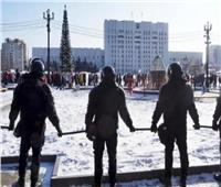 موسكو: نحو 20 مصابا بكورونا شاركوا في مظاهرة وسط العاصمة