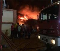 السيطرة على حريق أندلع داخل مطعم شهير بالرحاب