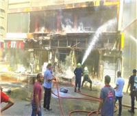 التحريات: ماس كهربائي وراء حريق مطعم شهير بالرحاب