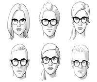 نصائح لاختيار نظارة ملائمه لوجهك