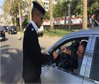 تحرير 1358 مخالفة مرورية خلال 24 ساعة بالجيزة