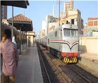 مصرع فتاة صدمها قطار بمحافظة الغربية