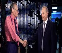 أجرى معه عدة لقاءات.. بوتين ينعى الإعلامي الأمريكي لاري كينج