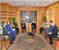 جامعة المنصورة تستقبل وفد سفارة موريتانيا لدعمالتعاون المشترك