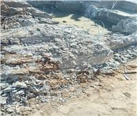 رئيس مدينة إسنا يتفقد أعمالاستكمال شبكات الصرف الصحي