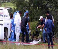 العثور على 19 جثة متفحمة قرب بلدة حدودية في المكسيك
