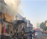 حفظ التحقيقات في حريق مصنع زيوت وشحوم سيارات في أطفيح