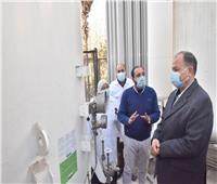 محافظ أسيوط يطمئن على الأكسجين وتوافر الأدويةبمستشفى الصدر